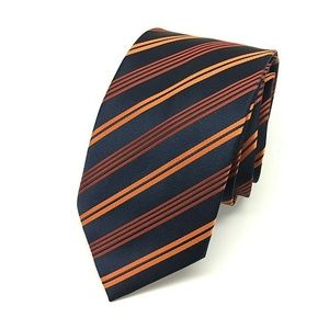 BRIONI Woven Silk Tie Mens Necktie ITALY